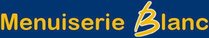 Menuiserie Blanc Logo
